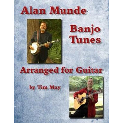 Alan Munde Banjo Tunes Arranged for Guitar