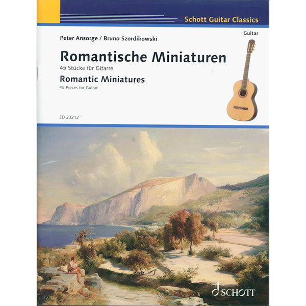 Romantic Miniatures - 45 Pieces for Guitar