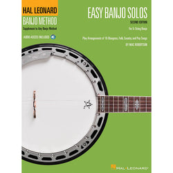 Easy Banjo Solos for 5-String Banjo, 2nd Edition - Hal Leonard Banjo Method