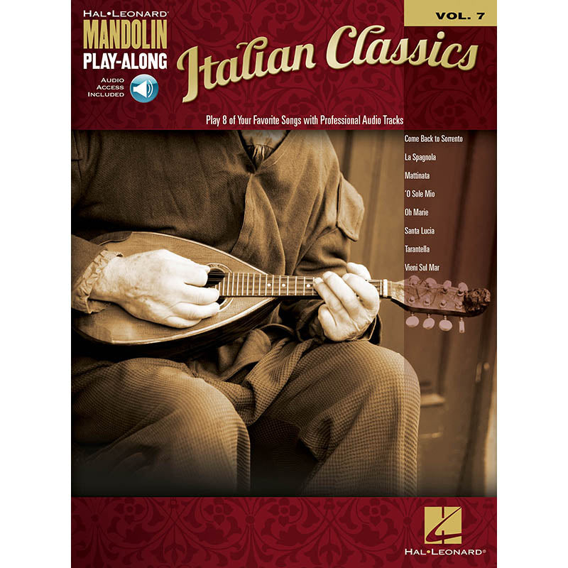 Italian Classics - Mandolin Play-Along Vol. 7