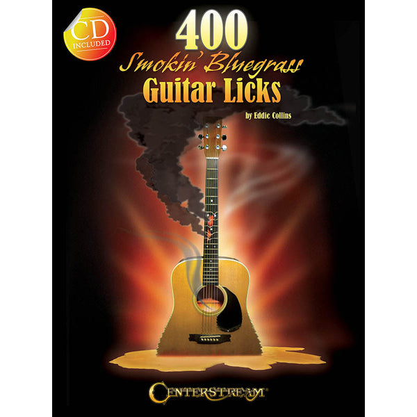 400 Smokin' Bluegrass Guitar Licks