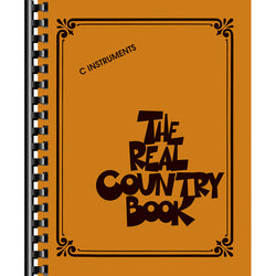 "The Real Country Book-For ""C"" Instruments"