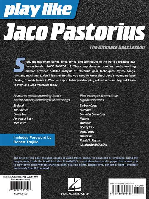 Play Like Jaco Pastorius-The Ultimate Bass Lesson