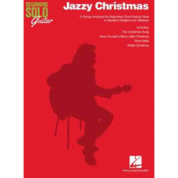 Jazzy Christmas - Beginning Solo Guitar