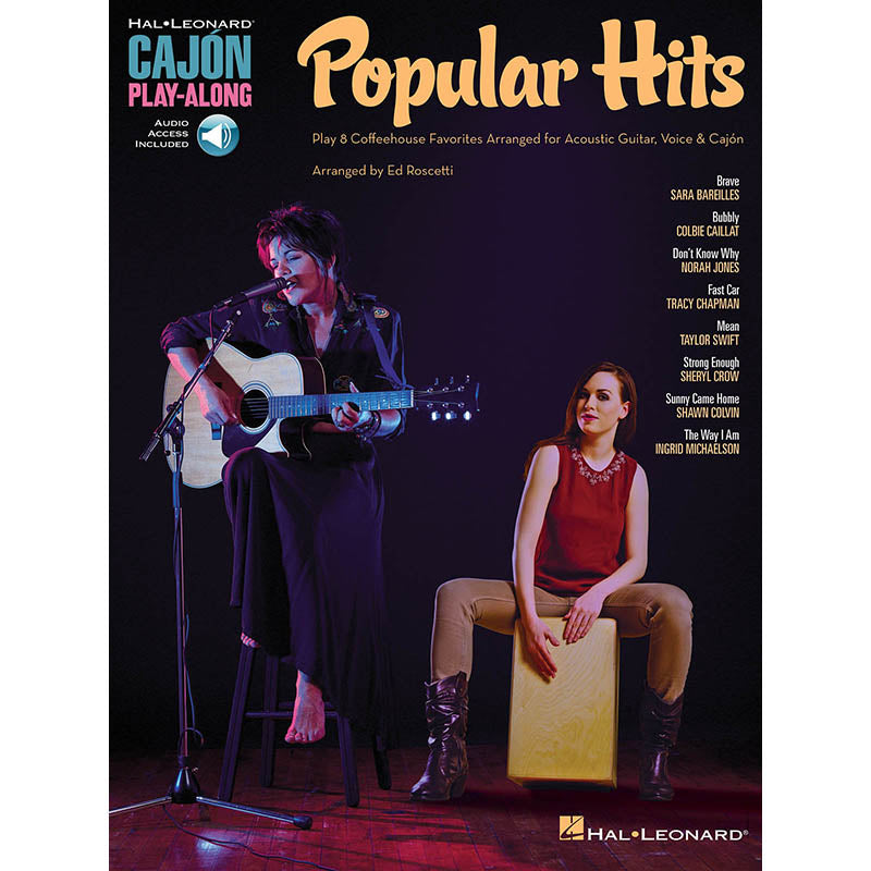 Popular Hits - Cajon Play-Along