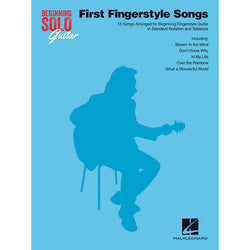 First Fingerstyle Songs