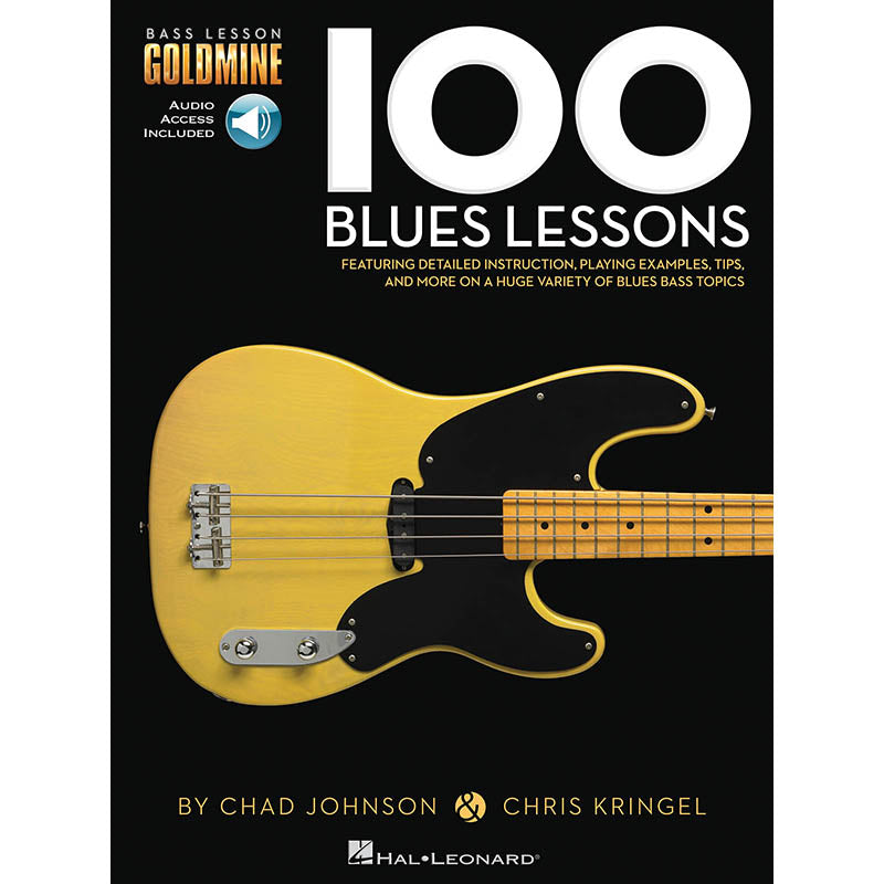 100 Blues Lessons - Bass Lesson Goldmine Series