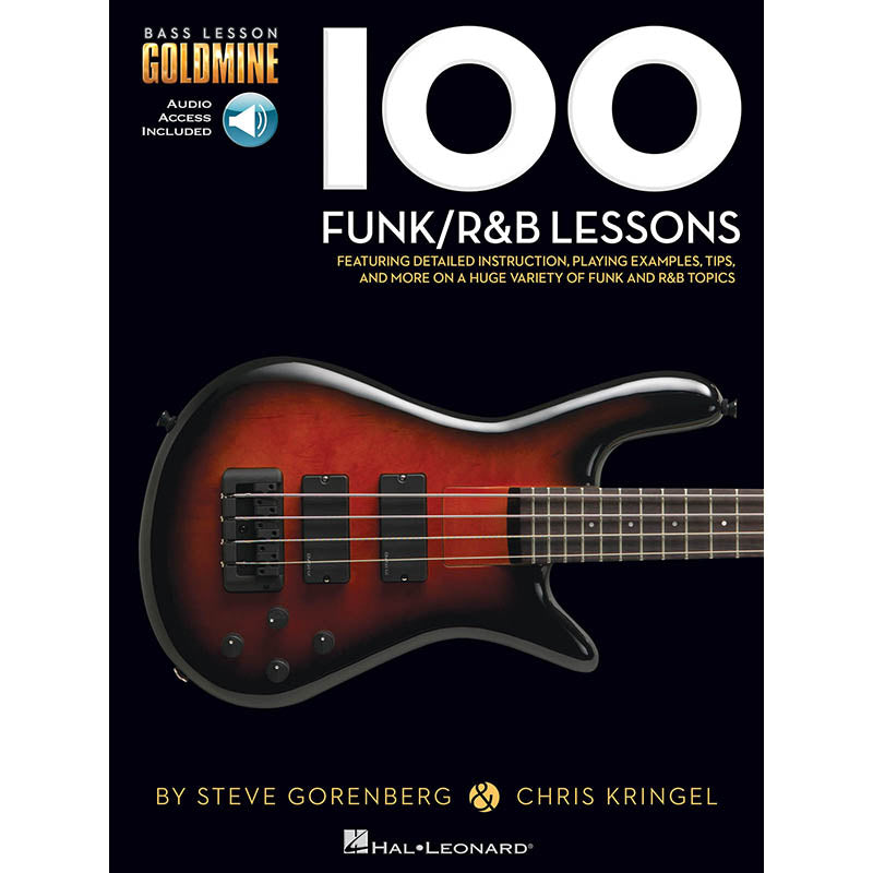 100 Funk / R&B Lessons - Bass Lesson Goldmine Series