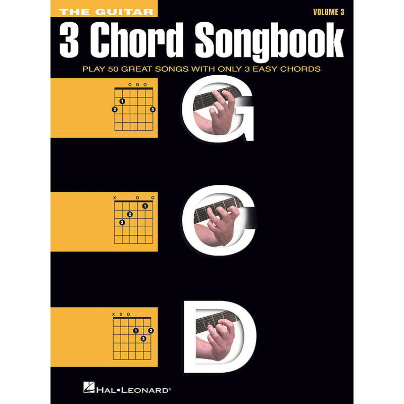 The Guitar Three-Chord Songbook - Volume 3: G-C-D
