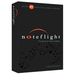 Noteflight - 3-Year Subscription