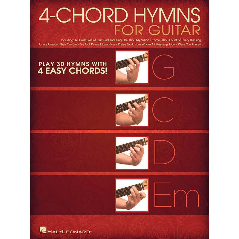 4-Chord Hymns for Guitar