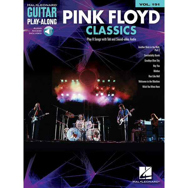 Pink Floyd Classics - Guitar Play-Along Vol. 191