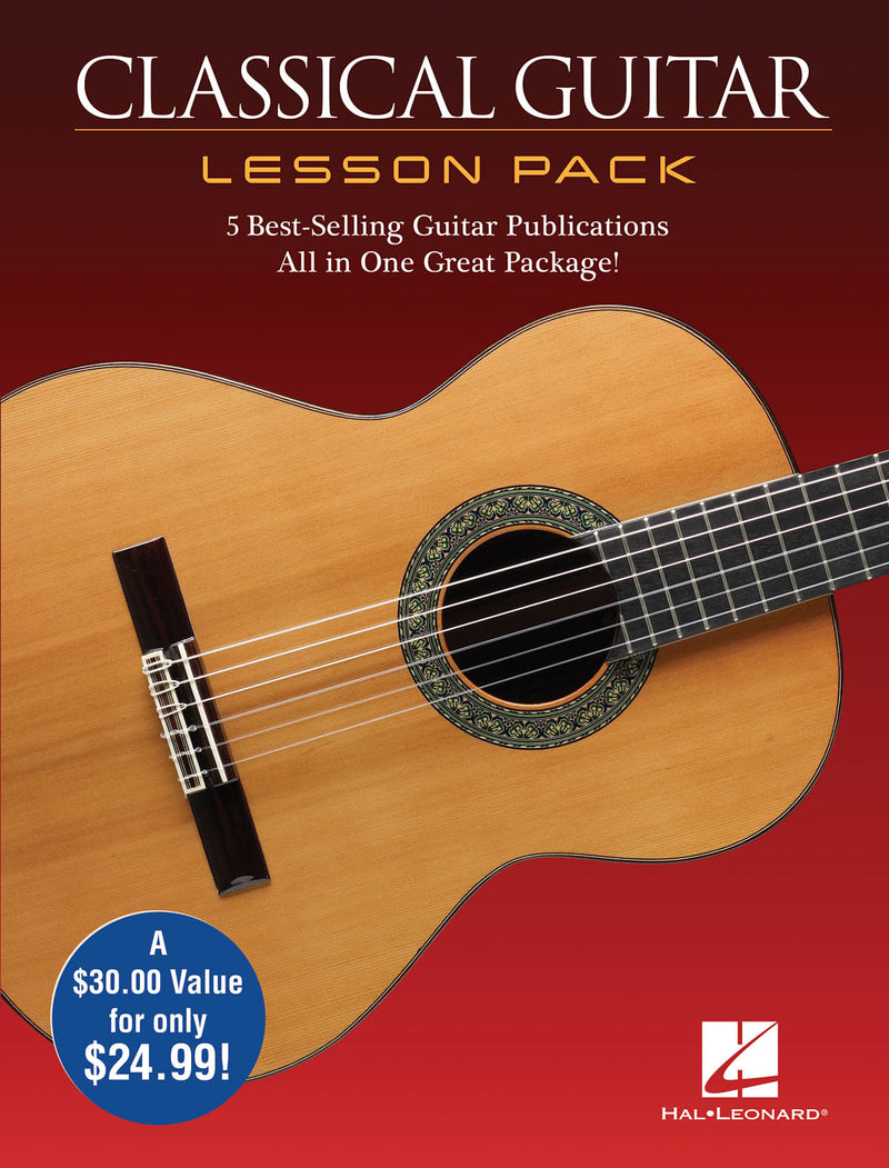 Classical Guitar Lesson Pack