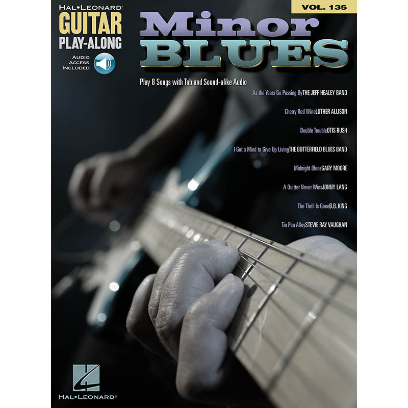 Minor Blues - Guitar Play-Along Vol. 135