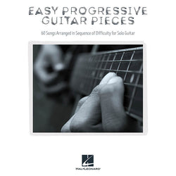Easy Progressive Guitar Pieces