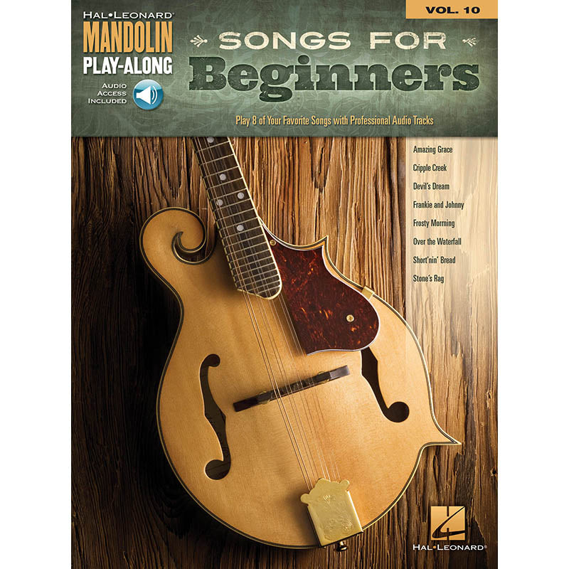 Songs for Beginners - Mandolin Play-Along Vol. 10