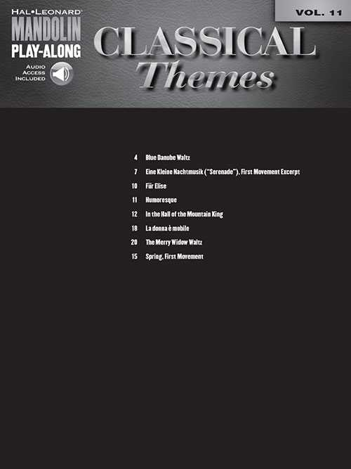 Classical Themes - Mandolin Play-Along Vol. 11