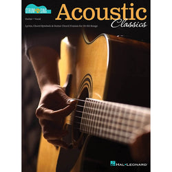 Acoustic Classics - Strum & Sing Series for Guitar