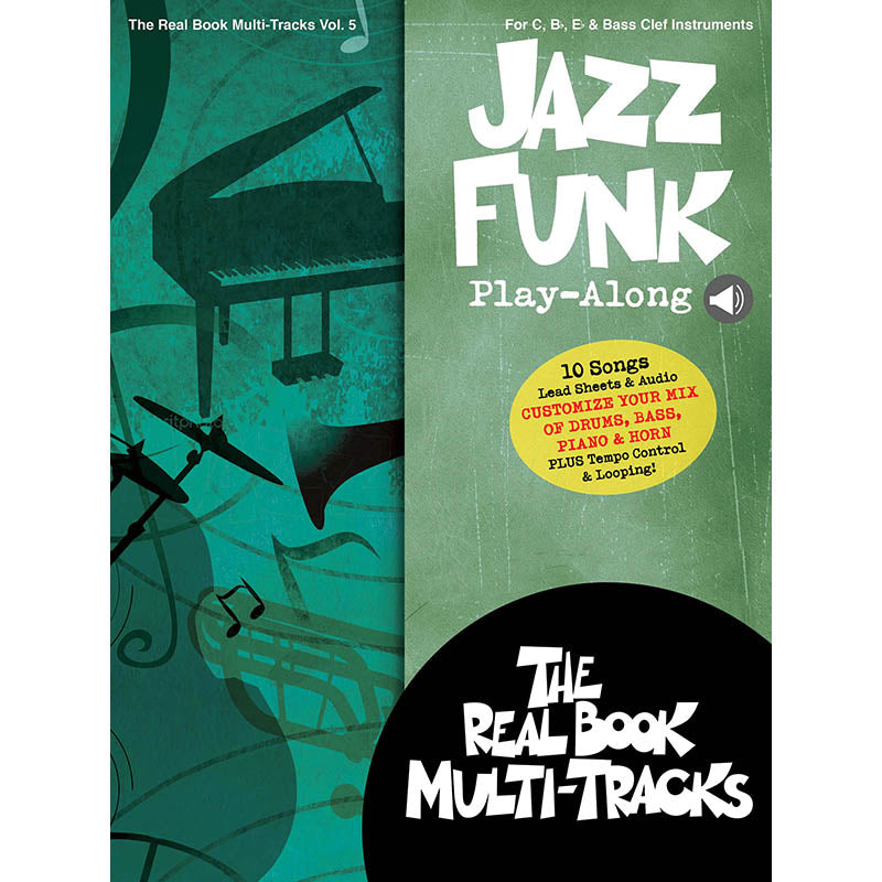 Jazz Funk Play-Along - Real Book Multi-Tracks Vol. 5