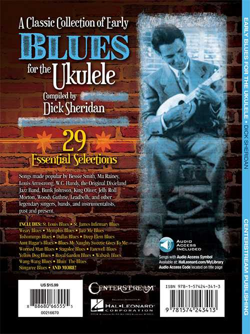 A Classic Collection of Early Blues for the Ukulele