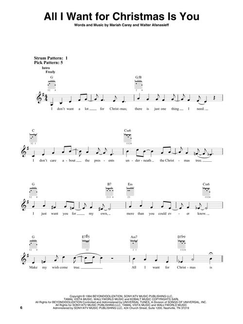 Christmas Waltz Chords.The Ultimate Guitar Christmas Fake Book 2nd Edition
