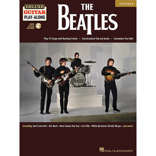 The Beatles - Deluxe Guitar Play-Along Vol. 4
