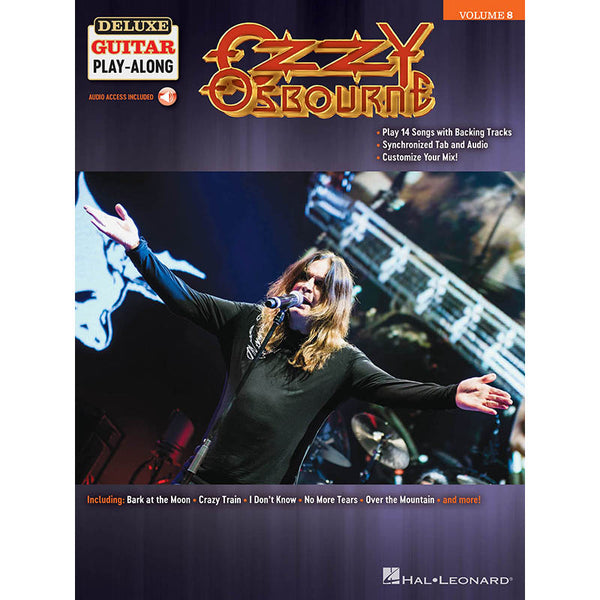 Ozzy Osbourne - Deluxe Guitar Play-Along Vol. 8