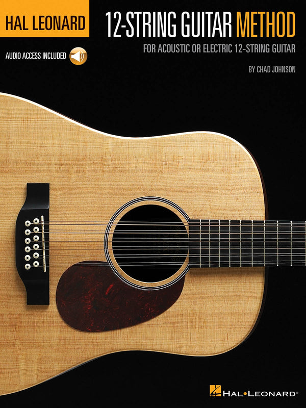 Hal Leonard 12-String Guitar Method - For Acoustic or Electric 12-String Guitar