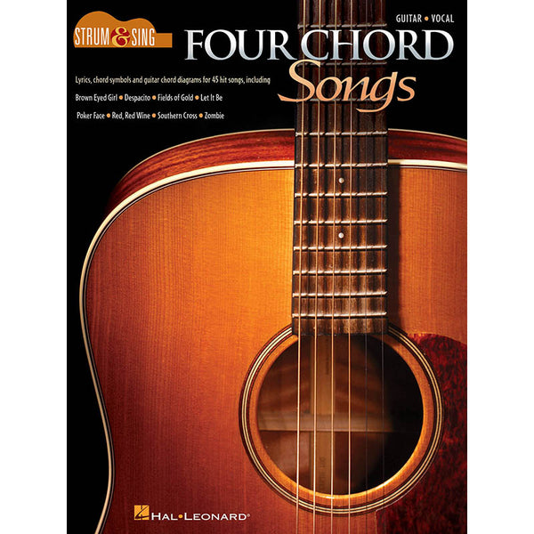 Four Chord Songs - Strum & Sing Series