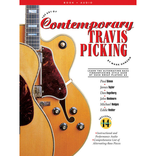 The Art of Contemporary Travis Picking - Learn the Alternating-Bass Fingerpicking Style