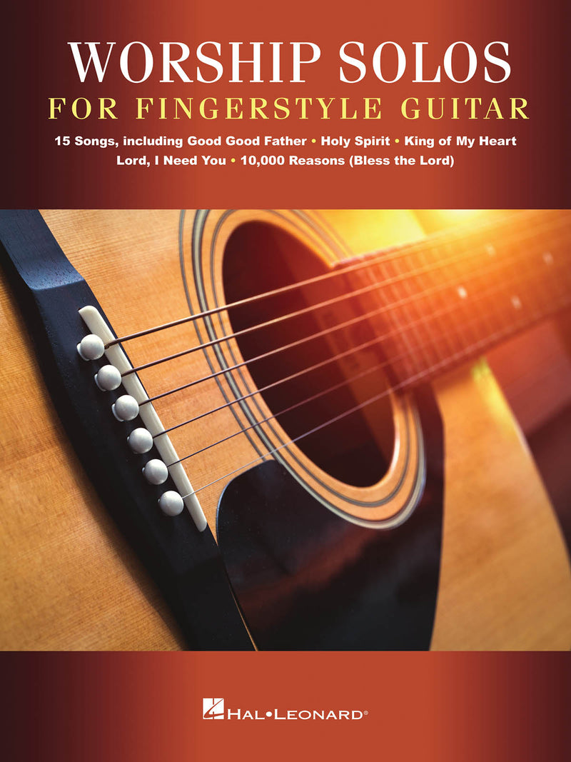 Worship Solos for Fingerstyle Guitar