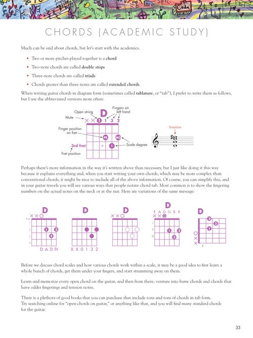 Vaideology - Basic Music Theory for Guitar Players