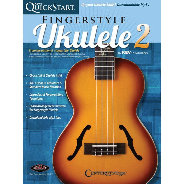Kev's QuickStart for Fingerstyle Ukulele, Volume 2