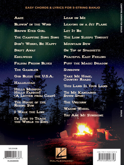Campfire Songs for Banjo - Strum & Sing with Family