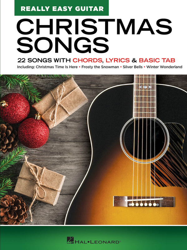 Christmas Songs – Really Easy Guitar Series