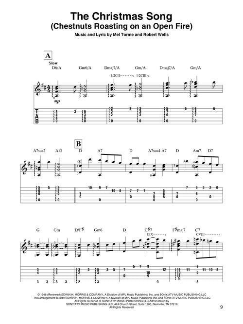 Christmas Songs for Fingerstyle Guitar