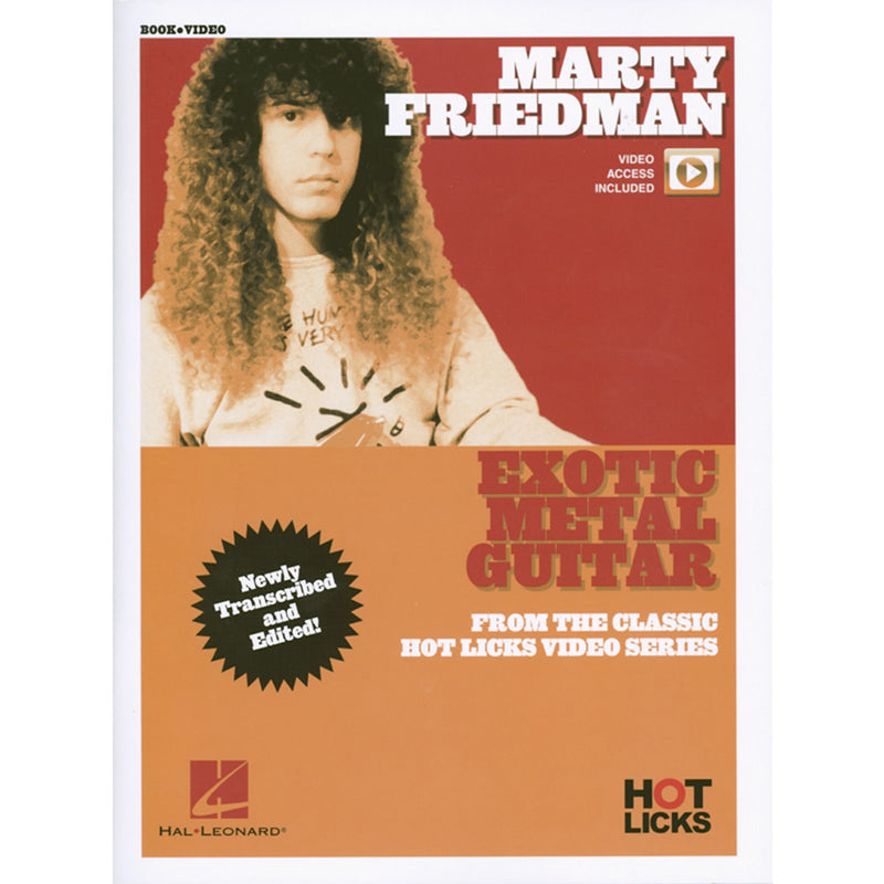Hot Licks - Marty Friedman Exotic Metal Guitar