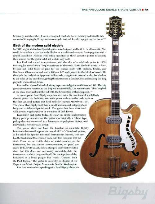 The Story Of Paul Bigsby - Father Of The Modern Electric Solidbody Guitar - Collector's Edition