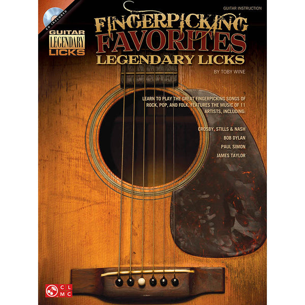 Fingerpicking Favorites Legendary Licks