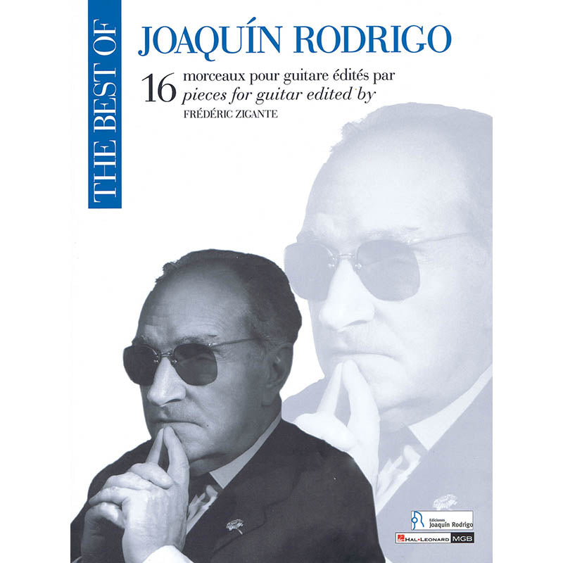 The Best of Joaquin Rodrigo - 16 Pieces for Guitar