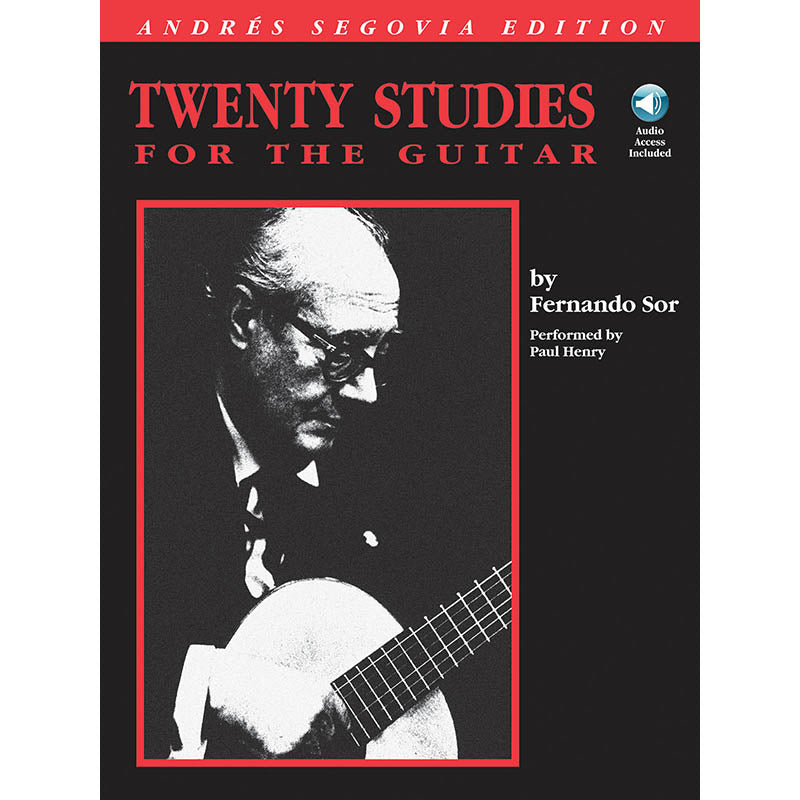 Twenty Studies for Guitar - Andres Segovia Edition