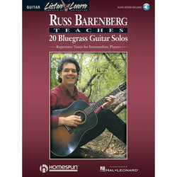 Russ Barenberg Teaches Twenty Bluegrass Guitar Solos