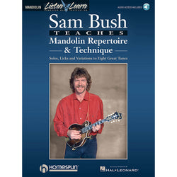 Sam Bush Teaches Mandolin Repertoire & Technique