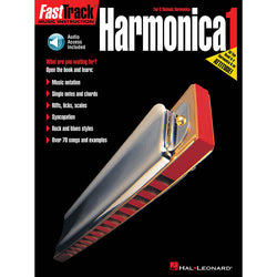 Fasttrack Harmonica Method - Book 1-For C Diatonic Harmonica