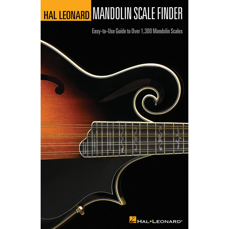 Mandolin Scale Finder - Easy-to-Use Guide to Over 1,300 Mandolin Scales
