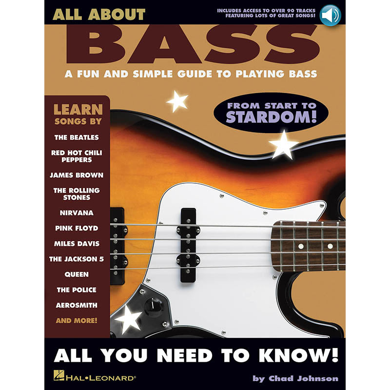 All About Bass-A Fun and Simple Guide to Playing Bass