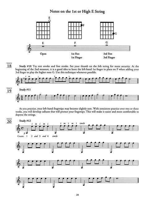 The Christopher Parkening Guitar Method - Volume 1