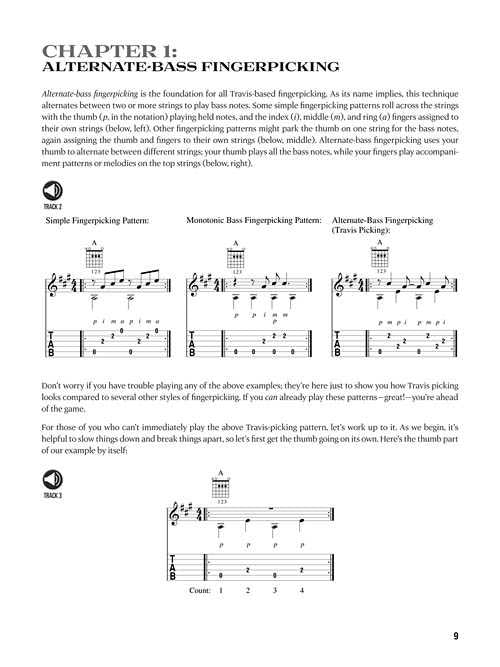 Travis Picking-A Guitarist's Guide to Fingerpicking Techniques, Patterns, and Styles