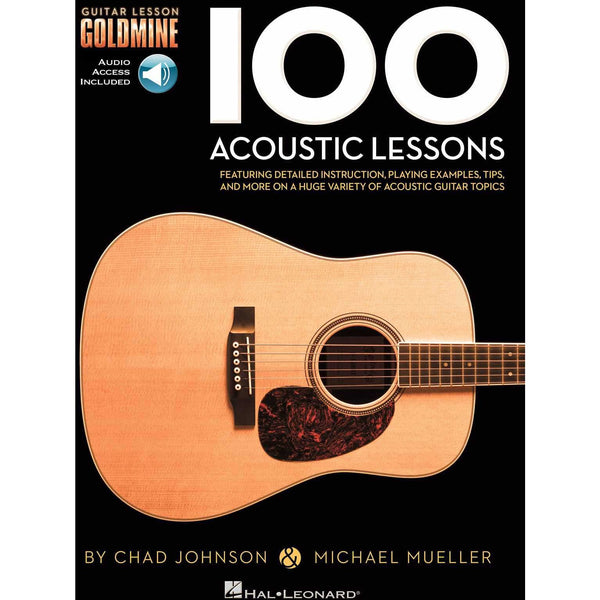 100 Acoustic Lessons - Guitar Lesson Goldmine
