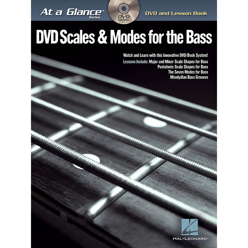 At a Glance - DVD Scales & Modes for the Bass